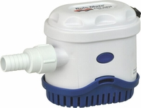 Rule Pumps Automatic 12 Volt DC Rule Mate Bilge Pump, 1100 GPH # RM1100A (CC)