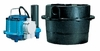Little Giant Sink Drain System 44 GPM 3/10 HP, 3.5 Gal, WRSC-6 (506065) (D)<br>