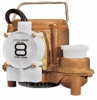 Little Giant Auto. Bronze Sump Pump 54 GPM 4/10 HP # 8-CBA (508357) (C)<br>
