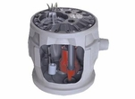 Liberty Simplex Sewage Ejector System 100 GPM # P382-LE51-2  (AA)<br>