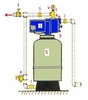 Hydropneumatic Jet System 2 to 2-1/2 Bathroom 3/4 HP