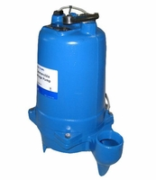 Goulds Water Technology Sewage Pump 145 GPM 3/4 HP 208 V,  WS0718BF (C) <br>
