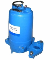 Goulds Water Technology Submersible Sewage Pump Series 3887, Single Phase Pumps<BR>