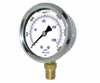 "Liquid Filled Stainless Steel Pressure Gauge 2-1/2"" Up To 2000 psi"