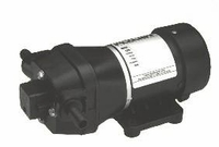 Flojet Quad II Demand Pump 4.9 GPM 12 VDC 45 PSI # 4300-143A (CC) <br>