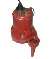Liberty Submersible Sewage Pump 135 GPM 1/2 HP 230 V. 1 PH # LE52M-2 (B)