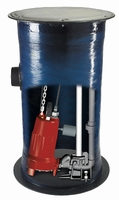 Liberty Assembled Grinder Pump Package 30 GPM 2 HP # 2448LSG (C)<br>