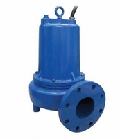 "Power-Flo Submersible Non-Clog 4"" Flanged Sewage Pump # PF4NC3744SS  (C)<br>"