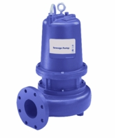 Goulds Water Technology Submersible Sewage Pump Series 3888D4, Single Phase Pumps <br>