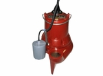 Liberty Automatic Submersible Sewage Pump 135 GPM  1/2 HP  LE51A-2 (X75)
