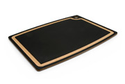 "Epicurean 18 x 13"" Gourmet Series Cascade Board with Juice Groove, Natural/Slate"