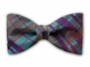 "Bow Tie ""Teal Plaid"""