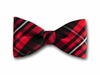 "Bow Tie ""Red Plaid"""