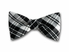 "Bow Tie ""Black Plaid"""
