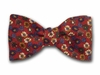 "Bow Tie ""Red Floral"""