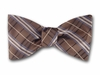 "Bow Tie ""Brown Plaid"""