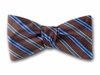 "Bow Tie ""Blue Stripes"""