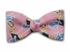 "Bow Tie ""Pink Flora"""