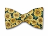 "Bow Tie ""Sunflower on Green"""