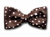 "Bow Tie ""Brown Polka"""