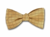 "Bow Tie ""Golden Plaid"""