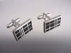 Onyx and Mother of Pearl Cufflinks