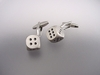 Removable Dice Cufflinks