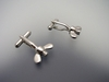 Nut and Screw Cufflinks