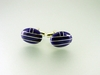 Inlaid Natural Lapis Cufflinks