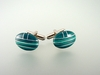 Inlaid Natural Malachite Cufflinks