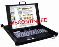 NTI Rackmux 17Inch Rackmount LCD Monitor w/ Touchpad