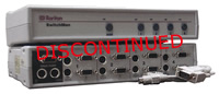 Raritan SwitchMan 4-Port KVM Swith w/2 Cables
