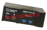 Cables To Go Port Authority2 2-Port KVM Switch w/Cables
