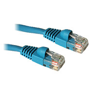 7ft CAT 5 Snagless Patch Cable - color: Blue
