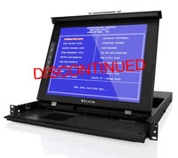 Belkin 17Inch LCD Rack Console with Dual-Rail Technology
