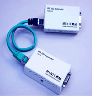 Minicom Digital Signage CAT 5 RS232 Extender