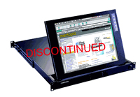 1U 15Inch Rack Mount Monitor Drawer with Samsung TFT LCD