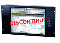 6U 15Inch Rack Mount LCD Panel with Samsung TFT LCD Monitor