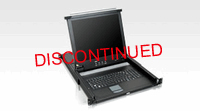 Aten 8 Port 17Inch LCD Slideaway console drawer