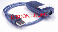 Rose Electronics ADB to USB converter, ADB MD4 to USB Type B