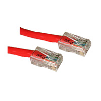 7ft CAT5 Assembled Patch Cable - color: Red