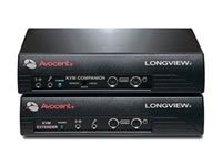 Avocent LongView 830 KVM Extender - 2-User, VGA/PS2, audio and serial