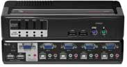 SwitchView 4-Port PS/2 or USB 2.0 KVM Switch