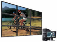 Minicom DS Vision Wall - 9 Displays System