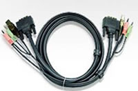Aten 5.9' USB DVI (single link) KVM Cable