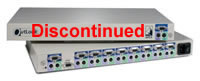 Avocent OutLook 2-User 8-Port KVM Switch