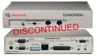 Avocent LongView Cat5 KVM Extender