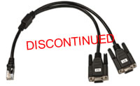 Avocent Dual DB-9 Female Cable for MPX1500 T/R