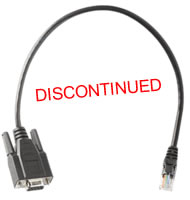 Avocent Serial RJ-45 to DB-9 Female Cable for MPX15xxT