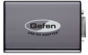 GEFEN USB DVI ADAPTER WINDOWS 7 64BIT DRIVER DOWNLOAD